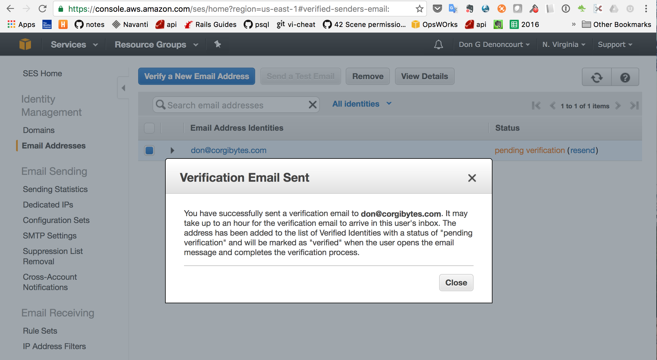 Handling AWS Bounce Notifications from Simple Email Service