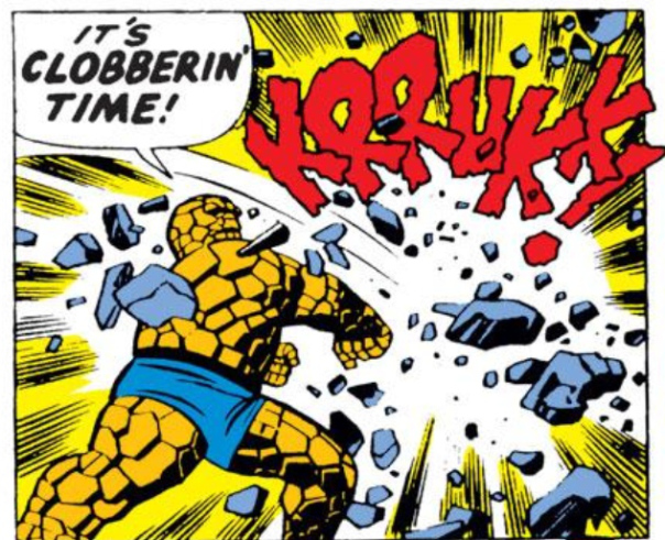 clobbering time