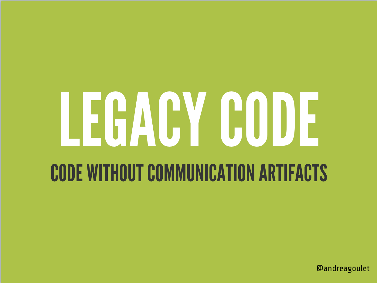 Legacy Code Definition